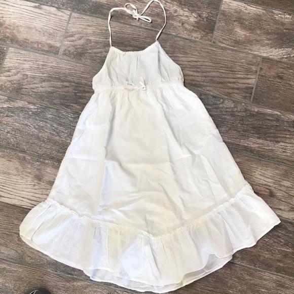 Gap kids white dress